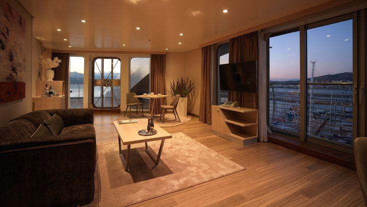 Sunborn Gibraltar Hotel - Break by Enzo Berti for Bross - www.bross-italy.com - #design #chairs #leather #hotel #gibraltar #sunborn
