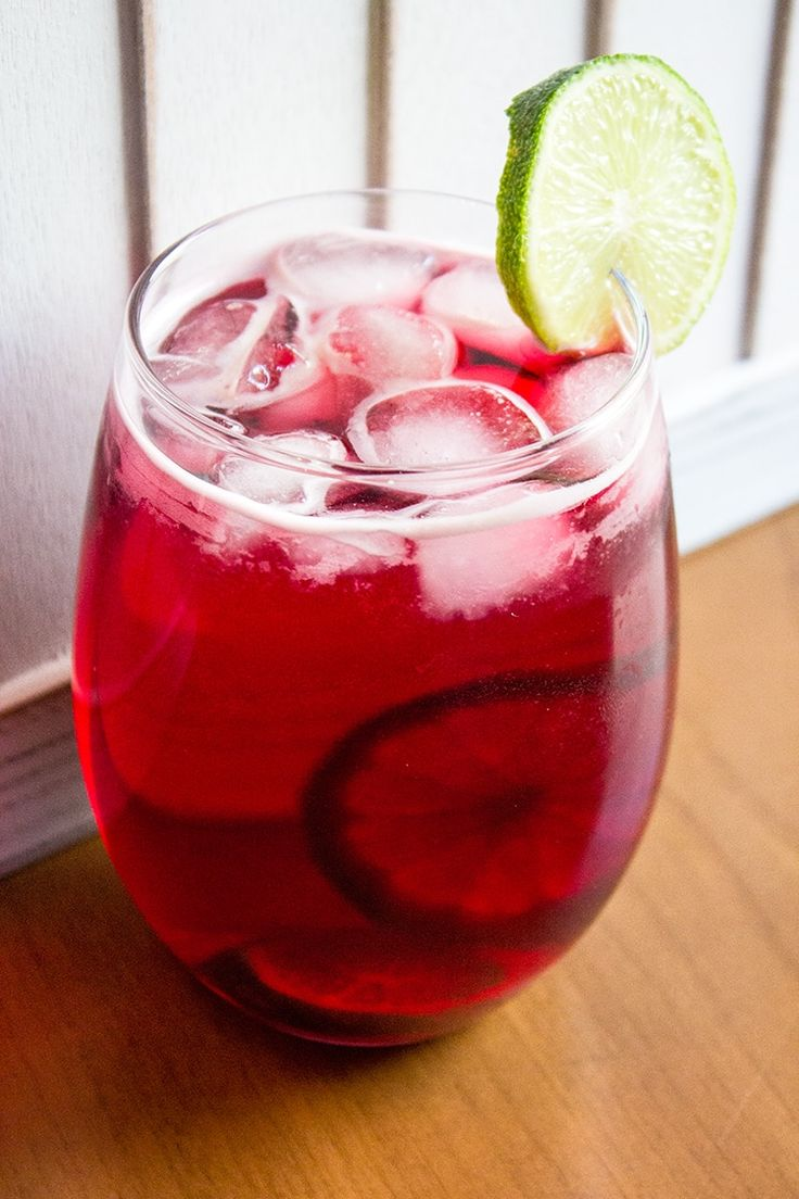 This delicious Cranberry Zombie cocktail combines three different types of rum to make a wonderfully fruity, rum based drink you are sure to love. - by @KitchenMagpie