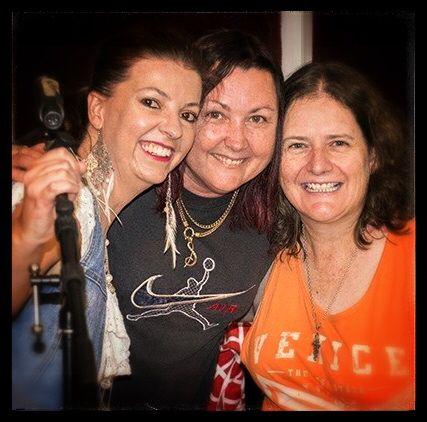 Rachel Jillett, Shaza Leigh & Peggy Gilchrist at Lindsay Butler Studios Feb: 2015  #ShazaLeigh, #LindsayButler, #LBSMusic, #australiancountrymusic, #RachelJillet, #PeggyGilchrist
