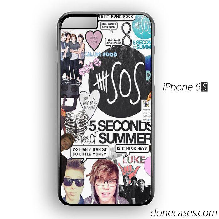5SOS collage iPhone 6 / iPhone 6S Case