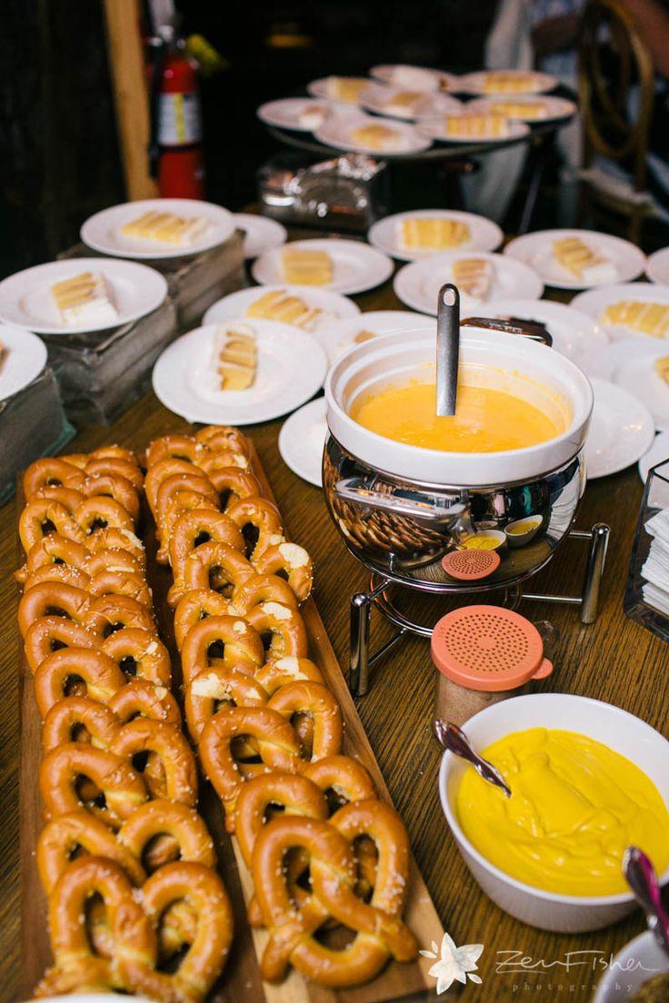 Warm up some soft pretzels, chicken skewers, or sausage ...