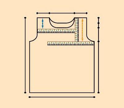 Comment mesurer une courbe pour obtenir vos mesures à tricoter.