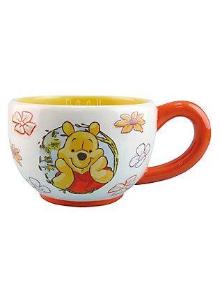 Disney Winnie The Pooh Flowers Teacup,