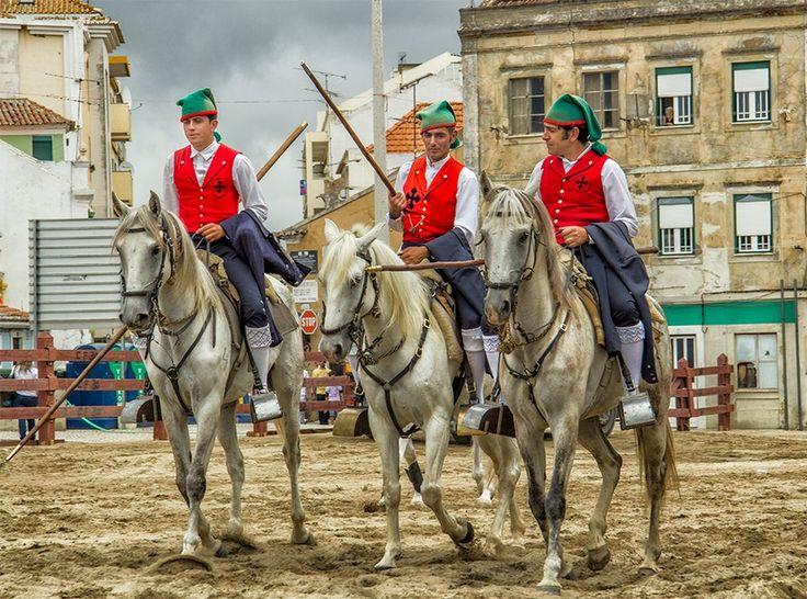 Campinos from Ribatejo region #Marvao #Alentejo #Portugal