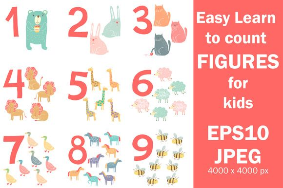 Check out Easy Learn to count figures by whynot on Creative Market