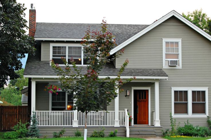 Copley Gray Body Sea Pearl Trim Exterior Paint Colors For House Exterior Gray Paint Grey