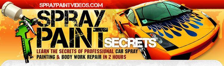 Car Spray Painting | How To Spray Paint Car
