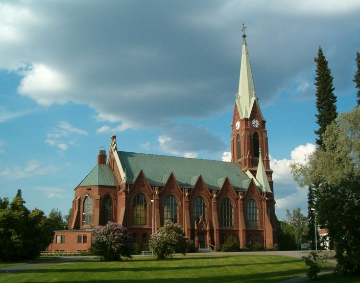 The Cathedral of Mikkeli, Finland