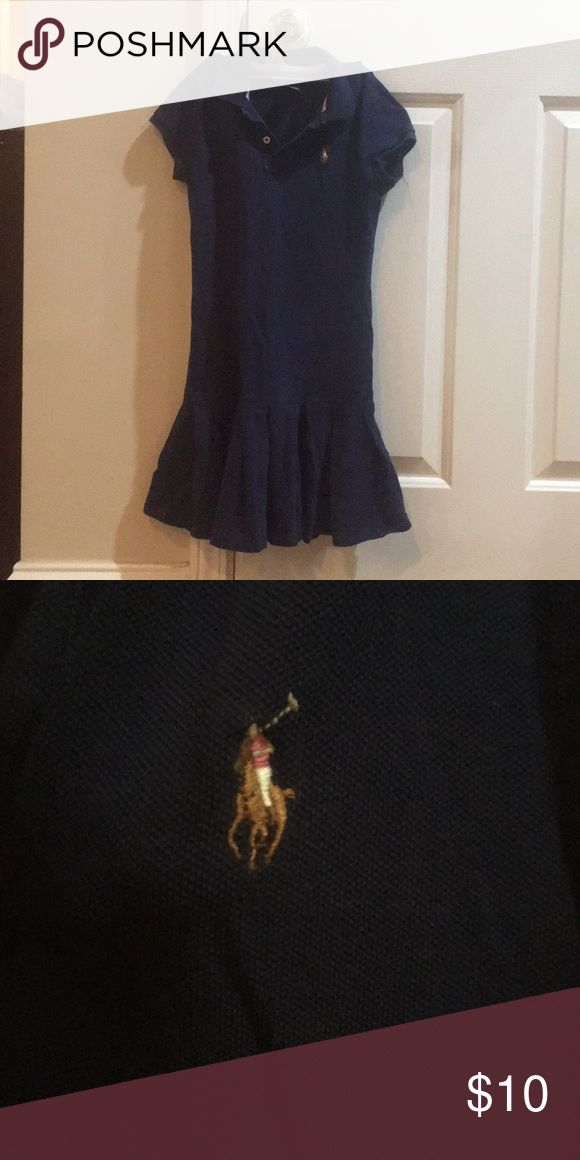 A girls golf, tennis, and just for going out dress This is a navy blue girls short sleeve golf, tennis, or just for going out dress. Sizes 8-10. Ralph Lauren Dresses Casual