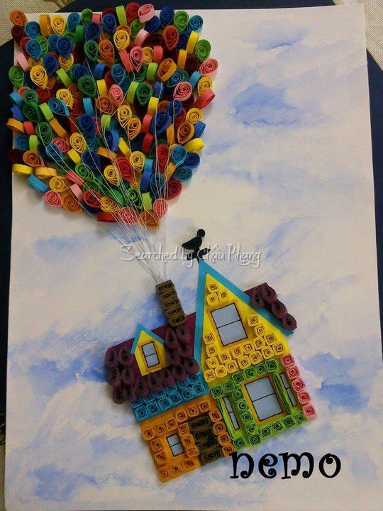 Quilling - Pictures about cartoon: Nemo