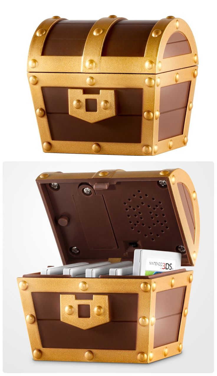Zelda a link between worlds treasure chest , when you open it, it sounds like the real chest from in the game.