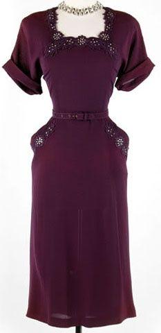 ~Marvelous dress, 1940s~