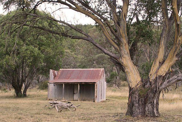 Bill Jones Hut, Kosciuszko National Park. Built around the early 1950s