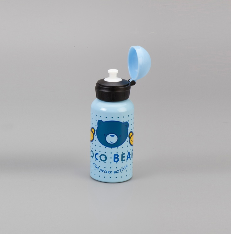 Botella Aluminio Niños Bear 350 ml.