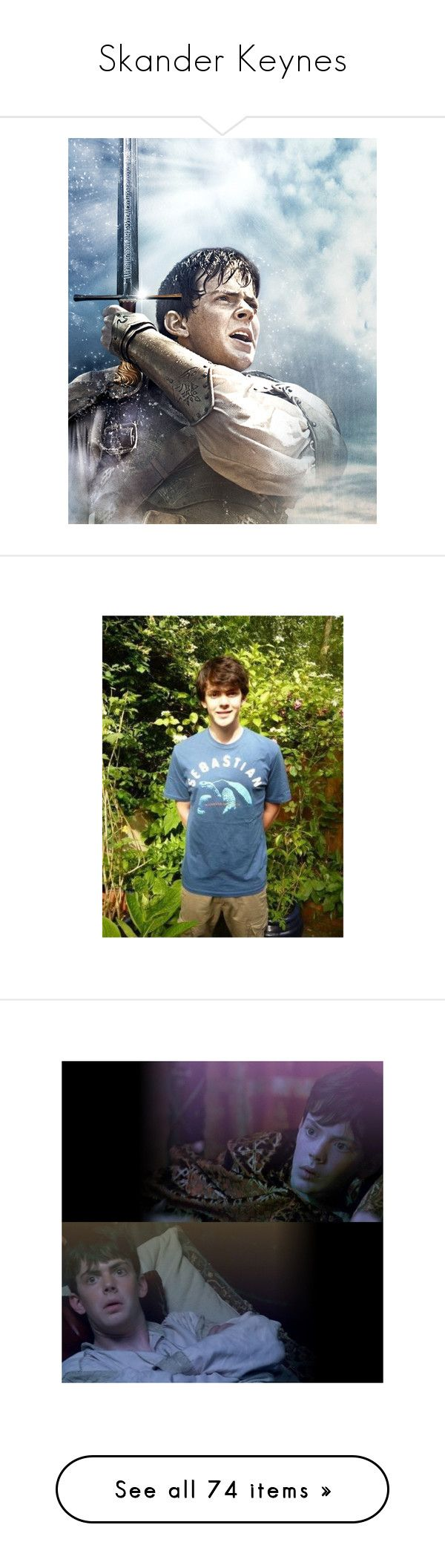 """Skander Keynes"" by sgede11 ❤ liked on Polyvore featuring narnia, chronicles of narnia, georgie henley, people, other, men, skandar keynes, skander keynes, models and home"