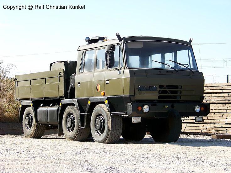 tatra ddr   Tatra 815 6x6 TP6 - RZM, Radzugmittel, NVA, Allrad, zul. Anhängelast ...