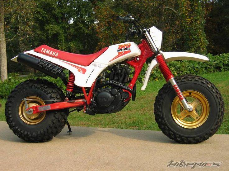 Bdcdfc C Ca Bbae Bf Big Wheel Yamaha Motorcycles on 1986 Honda Big Red