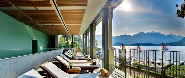 Spa and wellness centre in hotel 5 stars : the T Spa - Grand Hotel Tremezzo
