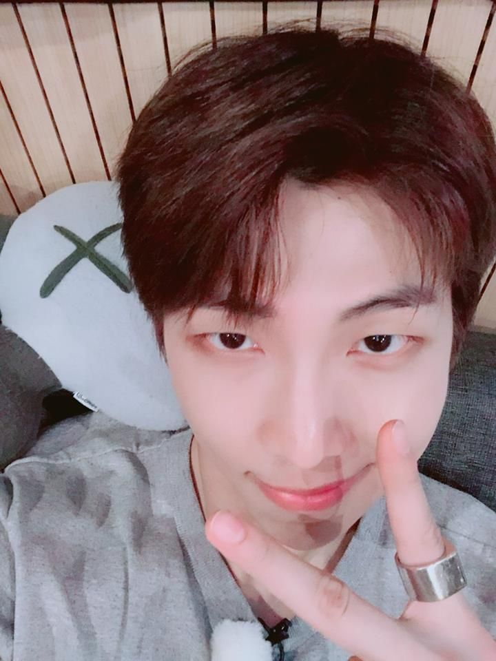 Haters Said Bts Rm Doesn T Have Idol Visual This Collection Of His Selfies Shuts Them Down Kstarlive Com Breaking K Namjoon Kim Namjoon Bts Rap Monster