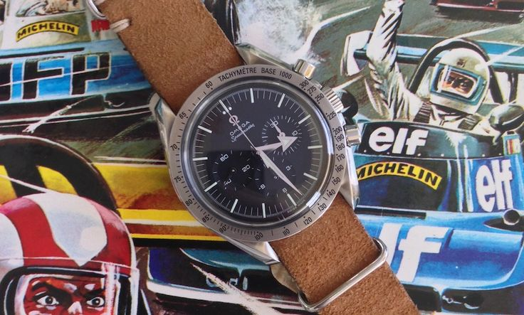 It's Speedy Tuesday! RJ talks about his precious Speedmaster '57 Replica...