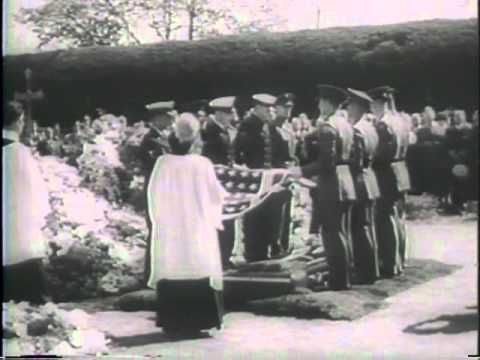 FUNERAL OF PRESIDENT ROOSEVELT [ETC.] - National Archives and Records Administration 1945 - ARC 39058, LI 208-UN-151 - DVD Copied by J. Williams. Series: Motion Picture Films from United News Newsreels, compiled 1942 - 1945. Part 1, President Roosevelts body is placed on a special train at Warm Springs, Georgia. The train is met in Washingt...