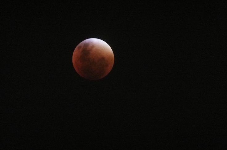 Luna de sangre (Septiembre del 2015) La Serena, Chile