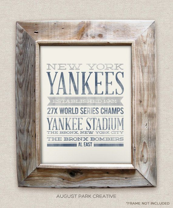 Best 25 vintage baseball decor ideas on pinterest kids for Yankees bathroom decor