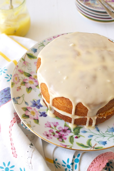 Lemon Curd Victoria Sponge - Recipe in British English terminology and measurements. I will need to adjust.