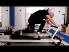 Reformer Fitness: Innovative exercises for scapular girdle and arms. Nuevos ejercicios en Reformer. - YouTube
