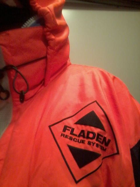 My Fladen flotation suit.