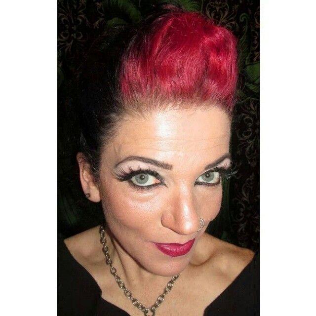 Rockabilly/Pinup makeup