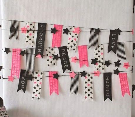 48 best ideas about masking tape on pinterest paper - Creation deco maison ...