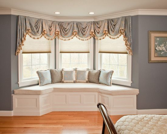 Bay Window Couch 241 best bay window treatments images on pinterest | bay window