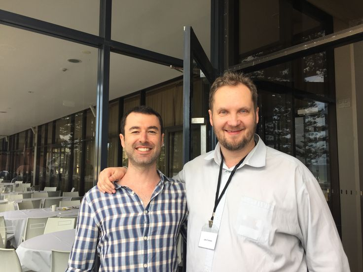 Finally got the chance to meet Yaro Starak in person. Superfast Business Live 10 in Sydney, Australia.