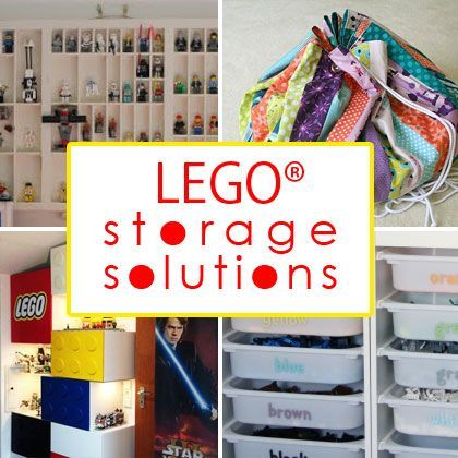 165 best images about lego storage on pinterest storage for Cool ways to organize your room