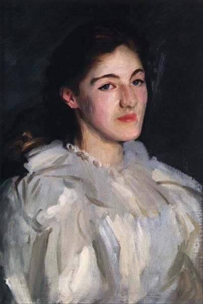Cecily Homer, 1910 by John Singer Sargent. Realism. portrait. Private Collection