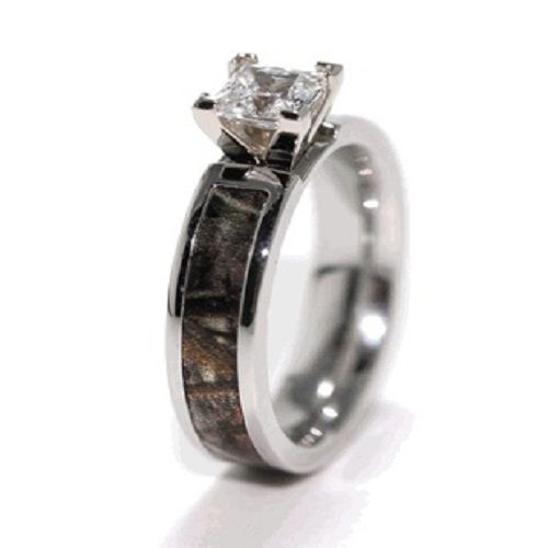 camouflage wedding rings | camo wedding rings with real diamonds | Diamond Forever Jewelry