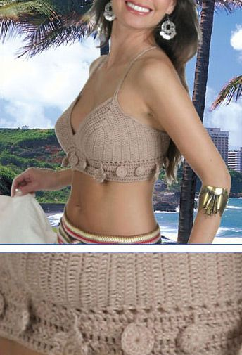 Crochet Bodice, with full pattern