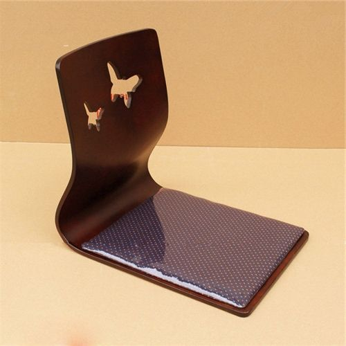 58.00$  Buy here - https://alitems.com/g/1e8d114494b01f4c715516525dc3e8/?i=5&ulp=https%3A%2F%2Fwww.aliexpress.com%2Fitem%2FTA113-3-Japanese-traditional-furntiure-japanese-floor-chair-Mahogany-color-japanese-floor-chair%2F1975031734.html - (2pcs/lot) Japanese Floor Chair Mahogany Finish Furniture Chair Design Japan Home Living Room Tatami Zaisu Floor Legless Chair
