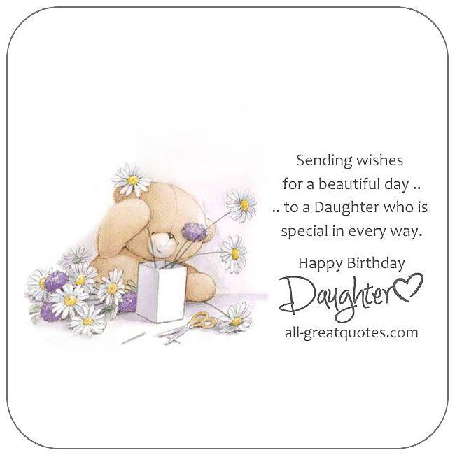 Happy Birthday Daughter Happy Birthday Daughter Birthday Wishes For Daughter Birthday Verses