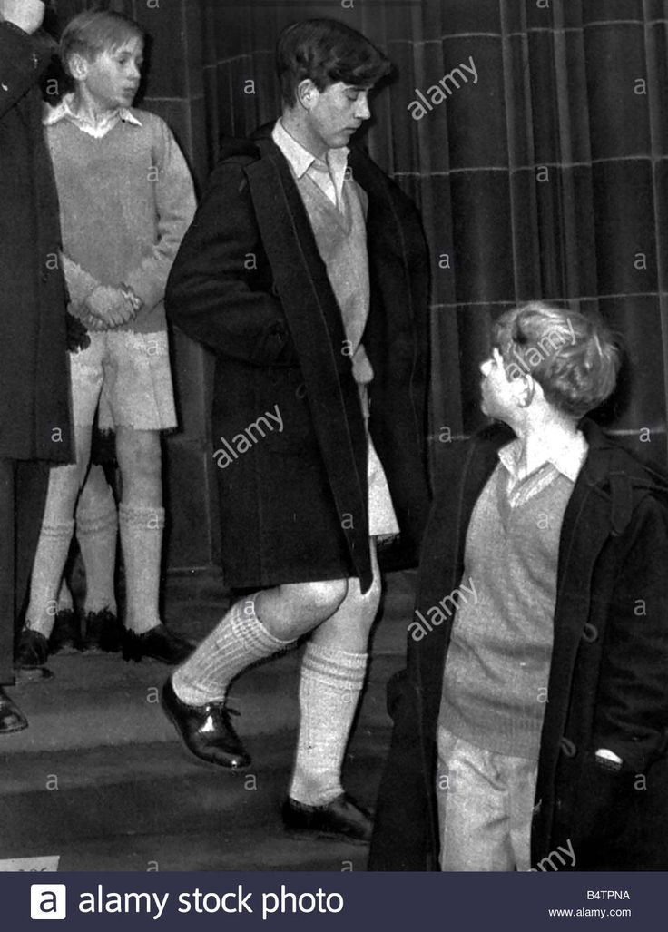 Download this stock image: Prince Charles 1964 Edinburgh St Giles cathedral where is was performing Gordonstoun school orchestra and choir - B4TPNA from Alamy's library of millions of high resolution stock photos, illustrations and vectors.