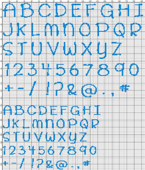 CUPCAKE cute modern scribble style cross stitch by hallodribums