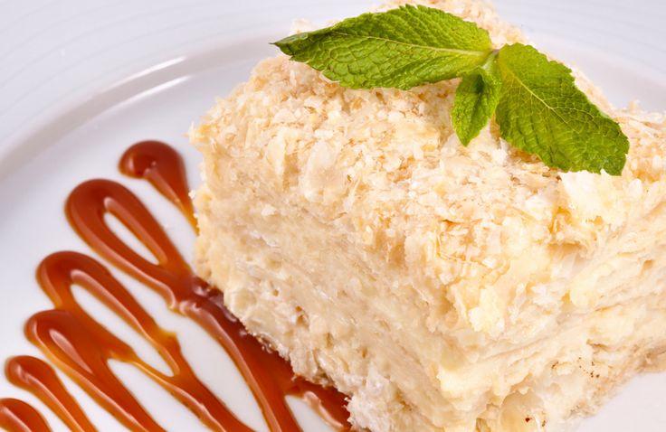 """Торт """"Наполеон"""": хитрости приготовления - кулинарный пошаговый рецепт с фото на KitchenMag.ru"""