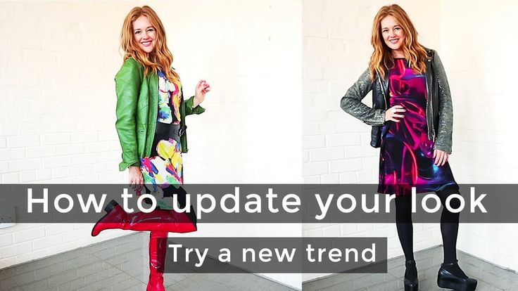 How to update your look for women over 40 - how to wear a new trend for ...