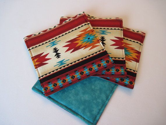 Hey, I found this really awesome Etsy listing at https://www.etsy.com/listing/291158905/southwestern-coasters-turquoise