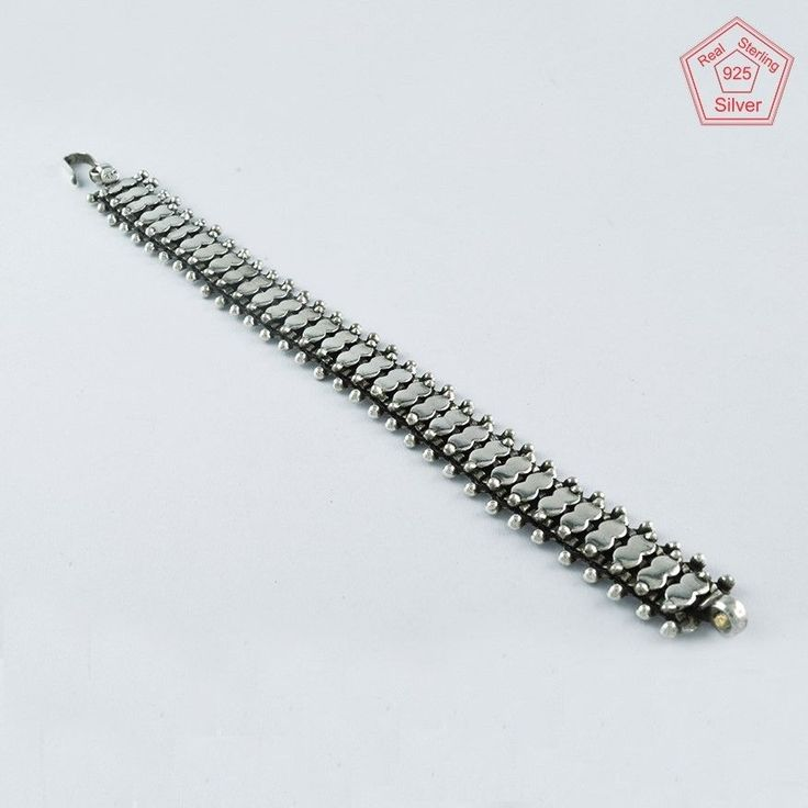RARE OXIDIZED COLLECTION 925 STERLING SILVER BRACELET BR4376 #SilvexImagesIndiaPvtLtd #Chain