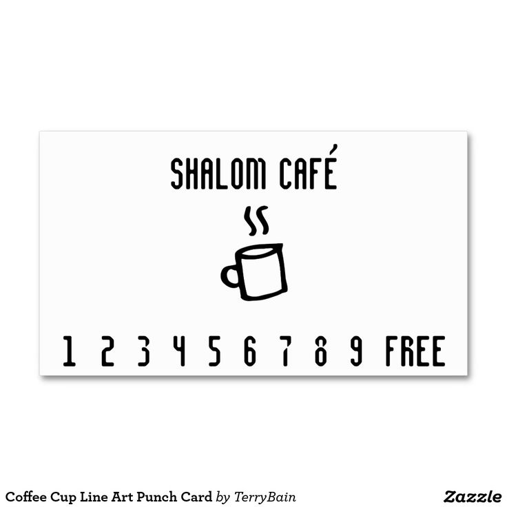 120 best Loyal to Coffee Business Cards images on Pinterest ...