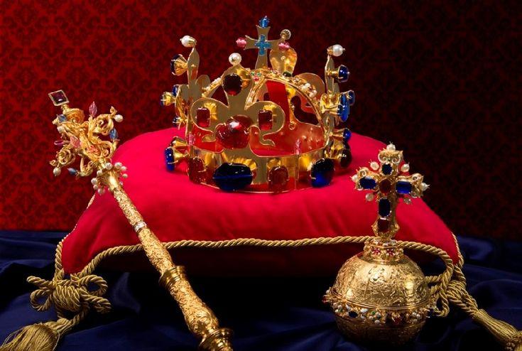 Корона, скипетр и держава Богемии