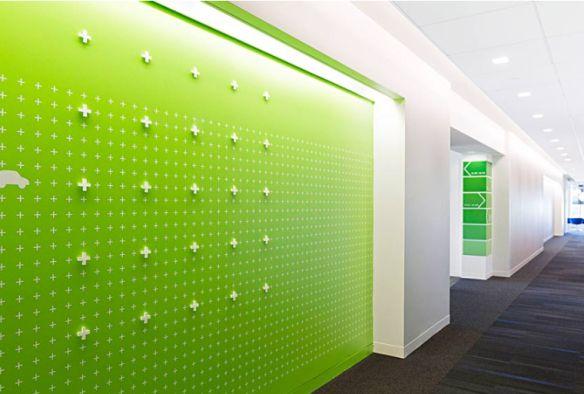 Por sua sede norte-americana, a empresa químicaBASF contratou o escritórioGensler para projetar um ambiente de trabalho agradávele sustentável que refletisse sua visão, marca e cultura. Para inc…