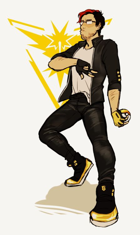 jam-art: markiplier's team instinct outfit god...